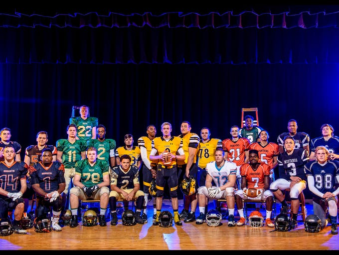 The GameTimePA YAIAA all-stars for 2016. Back row,