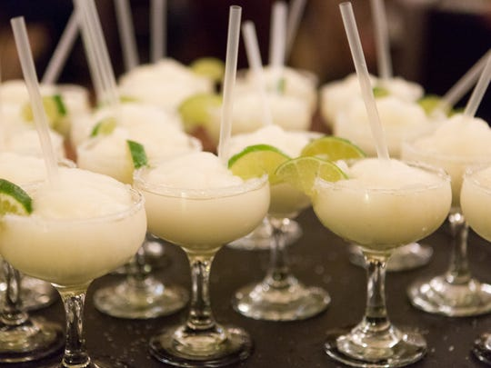 Mini margaritas wait to be served during Eat+Drink's Palate-Pleasing Pairing in the Agave Room at the Fort Collins Rio Wednesday, Nov. 9, 2016.