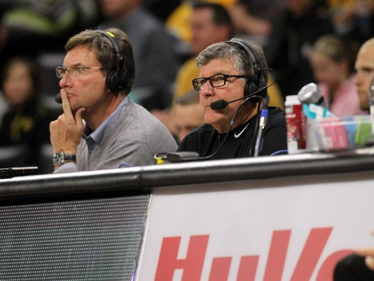 Iowa broadcaster Gary Dolphin caught ripping basketball team on-air
