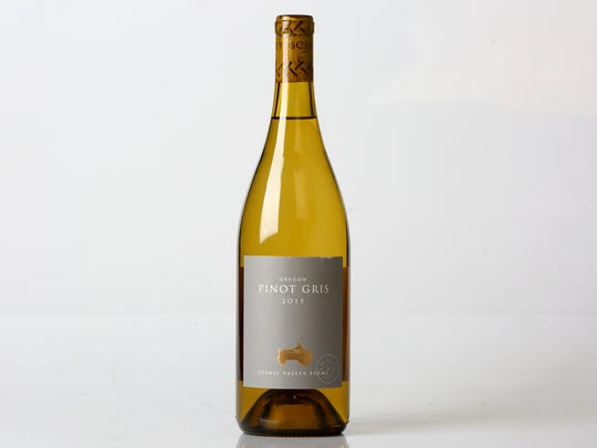 Scenic Valley Farms 2015 Oregon Pinot Gris.