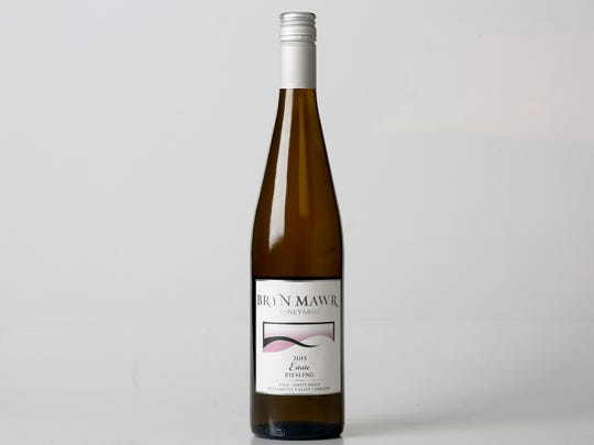 This Bryn Mawr Estate Riesling has a botanical quality to it, says Shannon Klopfenstein of Barrel & Keg.
