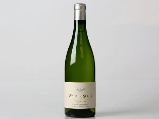 This Walter Scott 2014 Chardonnay sources its grapes from Freedom Hill.