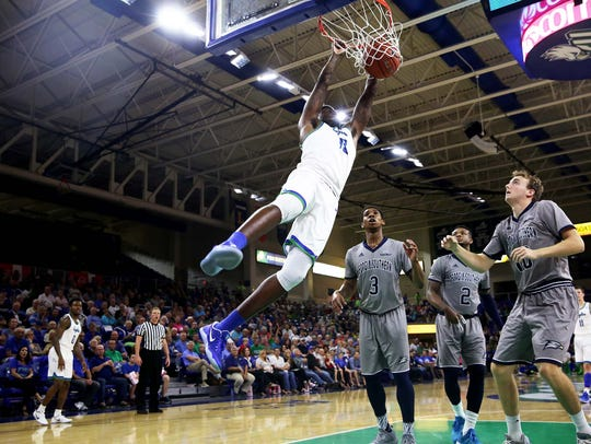The return of junior forward RaySean Scott, who missed the first seven games of this season with a knee injury, has given FGCU a boost.
