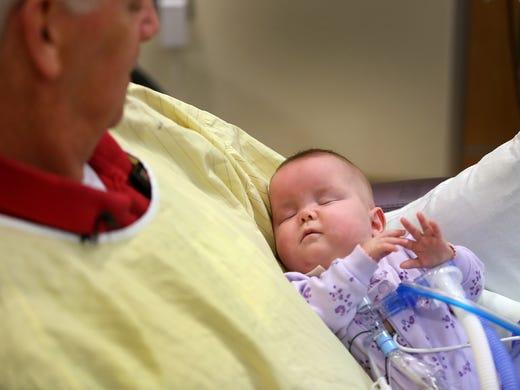 Preemie Babies Find Comfort In Arms Of Nicu Volunteer