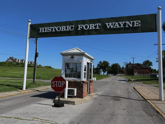 Entrance to Historic Fort Wayne in Detroit on Wednesday, July 15, 2015. Jessica J. Trevino, Detroit Free Press