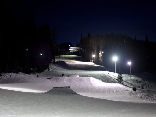 Night skiing is offered from 4 to 9 p.m. at Sunrise