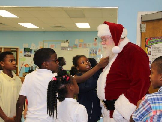 The only way to prove Santa was real was to pull his beard.