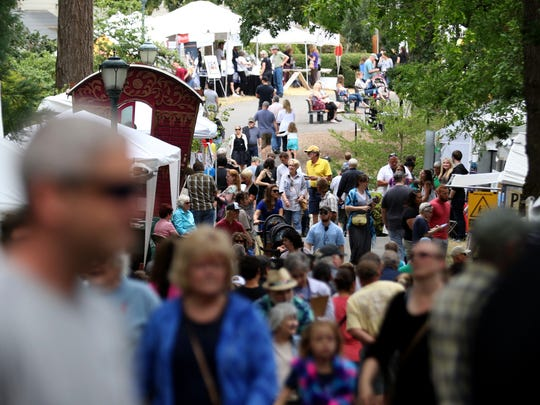 Salem Art Fair & Festival: This annual celebration of the artistic, from pottery and paintings to wearables and wood, also features music, dance and theater arts, too. Catch it in July.