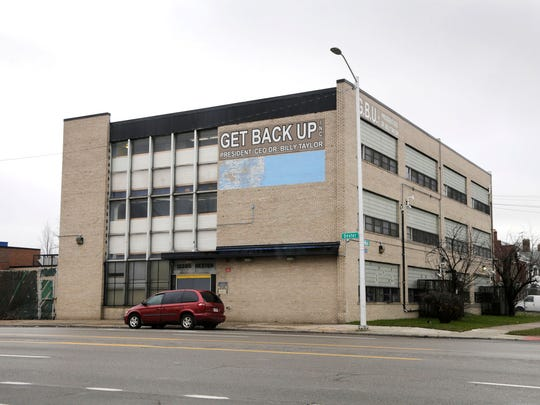 The Get Back Up treatment center on Dexter Avenue in Detroit on Thursday, Jan. 12, 2017.