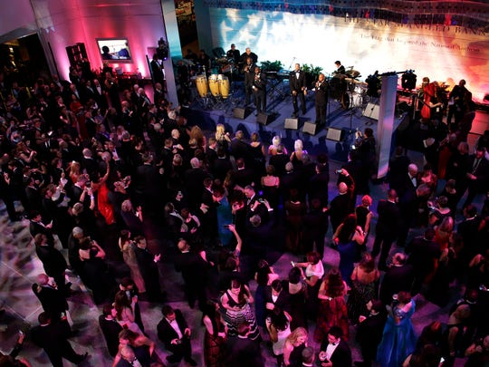 Michigan's Inaugural Gala was attended by over 1700