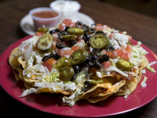 The nacho platter from Miracle Pub in Toms River.
