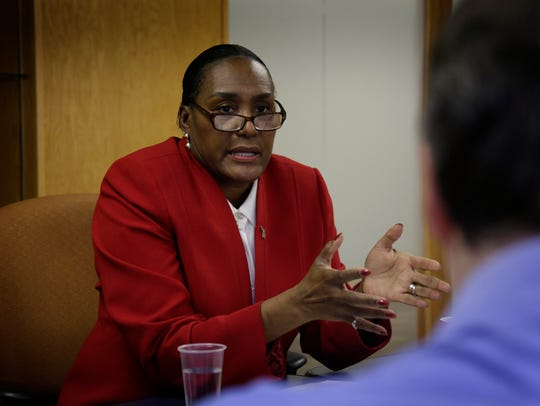 Wanda Stokes, director of the Michigan Department of