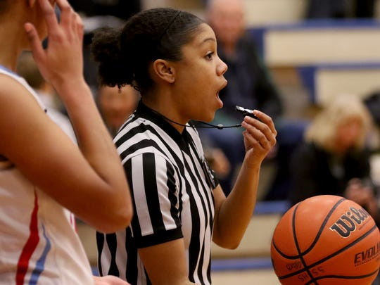 Brihtani Lassiter is in her sixth season with the Salem Basketball Officials Association.