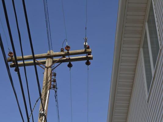 JCP&L utility pole