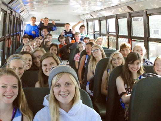 Roncalli offers transportation to students from many of the outlying areas.