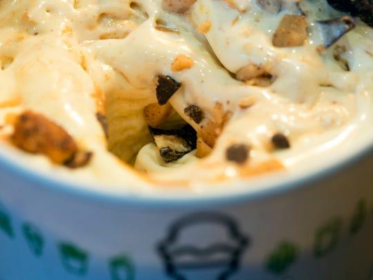 Shake Shack's Motor City Mix (vanilla custard, peanut