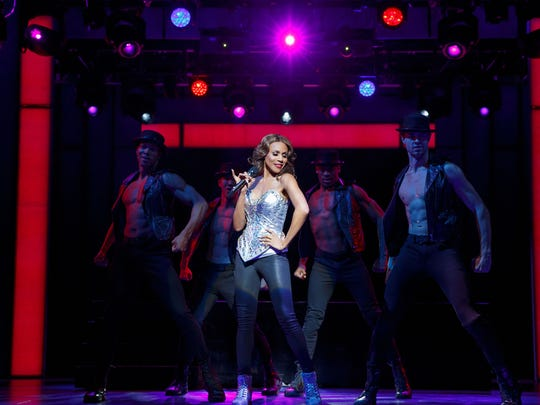 """Canadian R&B singer Deborah Cox in """"The Bodyguard,"""" a musical based on the 1992 movie of the same name starring Kevin Costner and Whitney Houston. The show includes Houston pop hits like """"One Moment in Time,"""" """"So Emotional"""" and """"I Will Always Love You."""""""