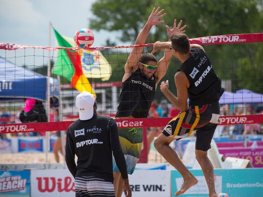 Neshotah Beach will again play host to the EVP Coolest Coast Classic Pro Volleyball Tournament July 21-23.