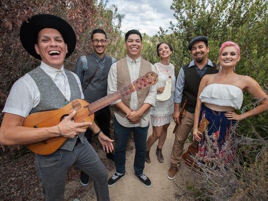 Los Angeles' Las Cafeteras will appear at the Levitt Shell on October 14.