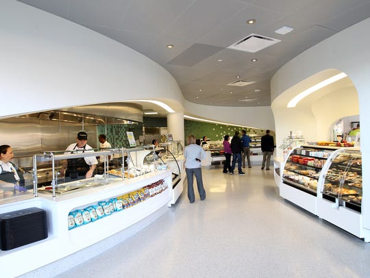 The University of Iowa Children's Hospital cafeteria