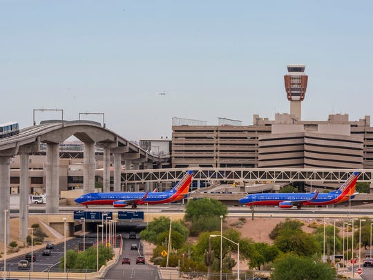 Southwest Airlines is the second busiest carrier at