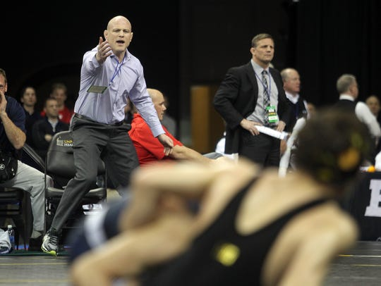 Penn State wrestling is going for its eight NCAA team championship in the last nine years this weekend in Pittsburgh.