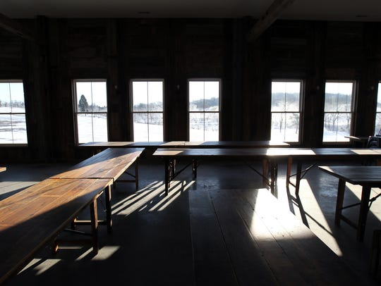 Rapid Creek Cidery's lower level, which will be used