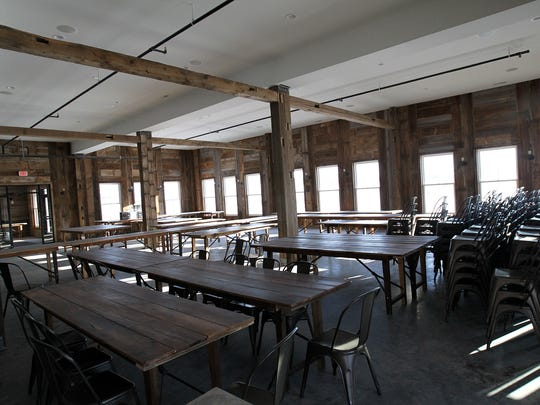 Rapid Creek Cidery's lower level, which will be used as a venue for weddings and private events, is pictured on Wednesday, March 15, 2017.