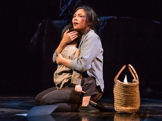 "Lianah Sta. Ana plays Kim in ""Miss Saigon"" on Broadway."