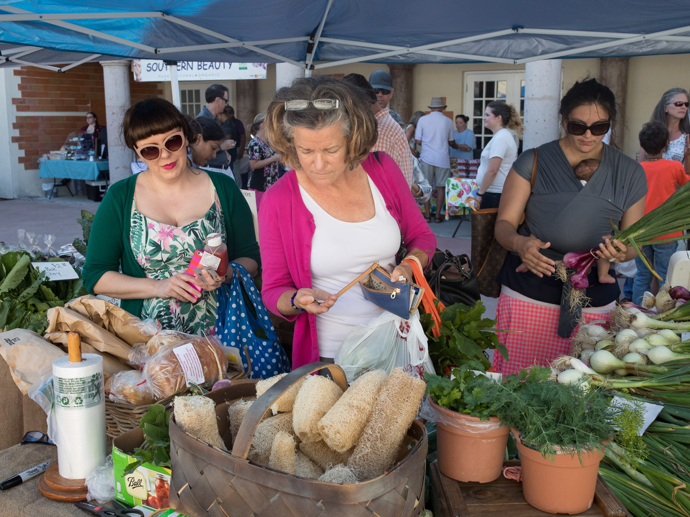 The Corpus Christi Downtown Farmers' Market operates from 5-8 p.m. Wednesdays.