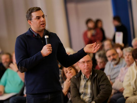U.S. Rep. Justin Amash holds a town hall meeting at