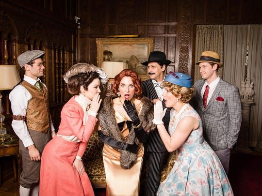 """The Meadow Brook Theatre cast of Irving Berlin's """"I"""