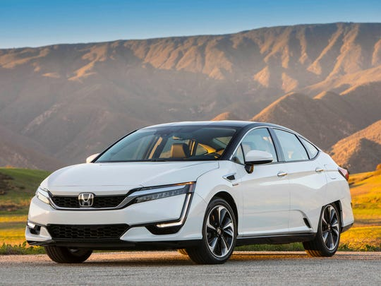 2017 Honda Clarity Fuel Cell, pictured, is currently