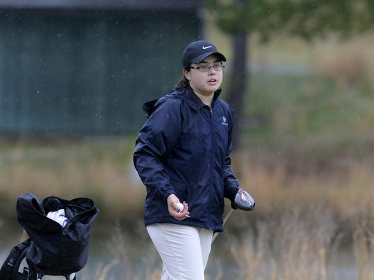Michaila Cheung of Toms River North won last week's Ocean County Tournament, while leading the Mariners to the team title.