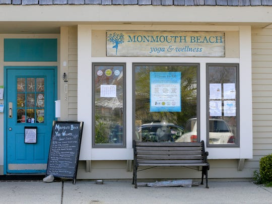 Exterior of Monmouth Beach Yoga and Wellness in Monmouth Beach, NJ Thursday April 20, 2017.