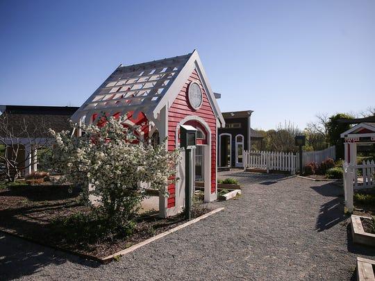 The Children's Garden at Coxhall Gardens in Carmel,
