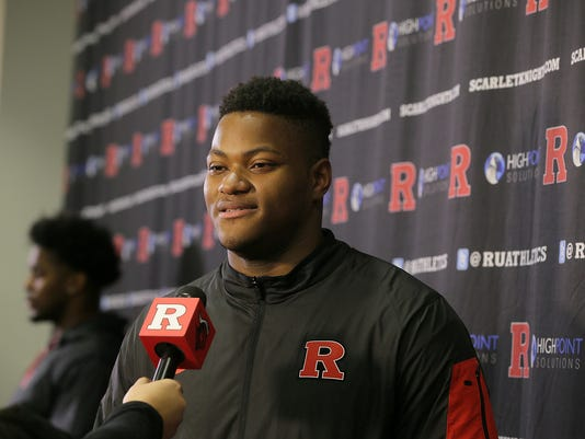 Rutgers football signing day Presto ID 97215038