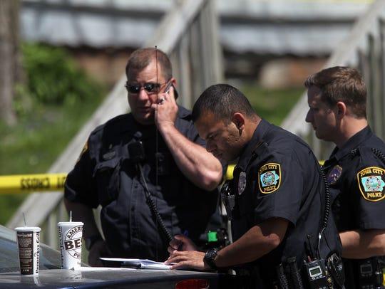 Iowa City Police investigate a death at Lederman Bail