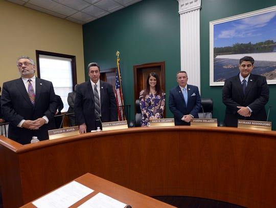 Garfield City Council. Photo (L-R) Councilman Louis