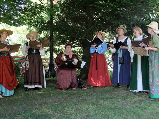 Salem Madrigal Singers will perform during Sheep to Shawl 10 a.m. to 4 p.m. Saturday, May 13, at Willamette Heritage Center. The event is free.