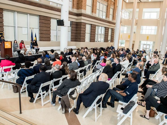 About 200 people were in attendance Friday at Battle Creek Central High School as the W.K. Kellogg Foundation announced a $51 million grant to Battle Creek Public Schools.