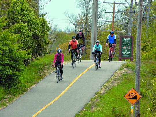 Cyclists enjoy many trails across the state of Wisconsin