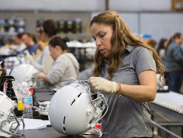 Dan Gilbert Backed Football Helmet Maker Butts Heads With Big Industry