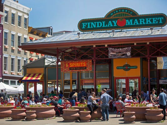 May 13, 2017: Findlay Market, OTR, Over-The-Rhine, buy Local, Liz Dufour