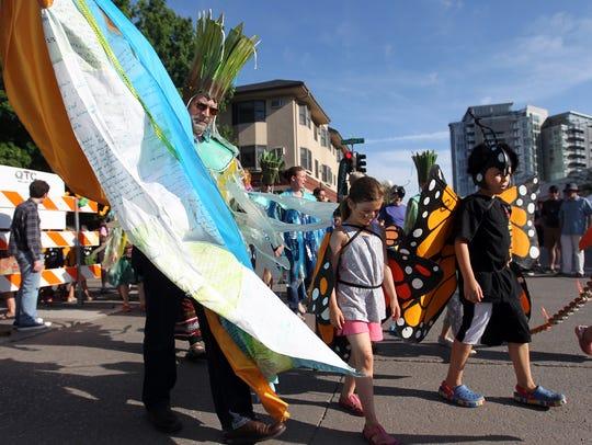 David Scrivner / Iowa City Press-Citizen Parade participants