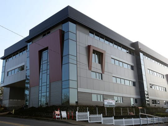 The new home of the Statesman Journal is at 340 Vista Ave. SE, on the corner of Vista and Commercial Street SE.