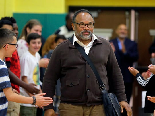 """Geoffrey Owens, who played """"Elvin"""" on The Cosby Show,"""