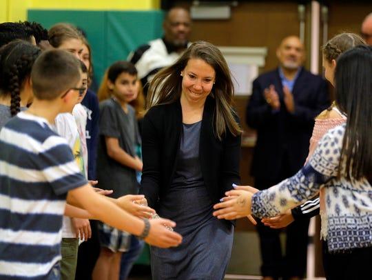 Danielle Dudek Kaiser, NCAA basketball record holder,