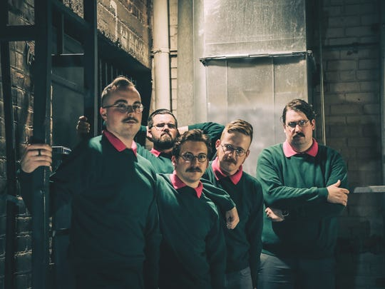 "Sweater-clad and nerdy Ned Flanders of ""The Simpsons"" inspired the look of metalcore band Okilly Dokilly."