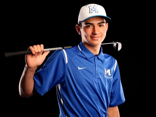 McNary senior Teegan Papke is nominated for Boy's Golfer of the Year in the Statesman Journal Sports Awards. Photographed at the Statesman Journal in downtown Salem on Thursday, May 25, 2017.